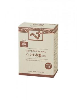 ナイアード ヘナ+木藍(茶系)100g