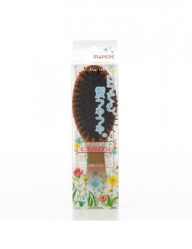 マペペ つやつや天然毛のミニミックスブラシ