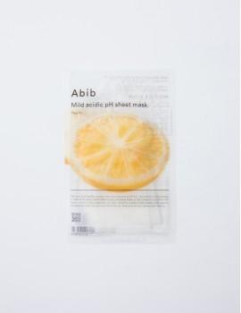 【OPEN特別セール】 ABIB(アビブ) マイルドアシディックph シートマスク ユズフィット